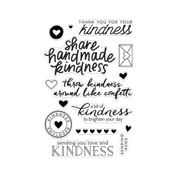 "Hero Arts Clear Stamps 4""X6"", Acts of Kindness"