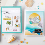 Hero Arts From The Vault Stamp & Die Combo, Beach and Sea