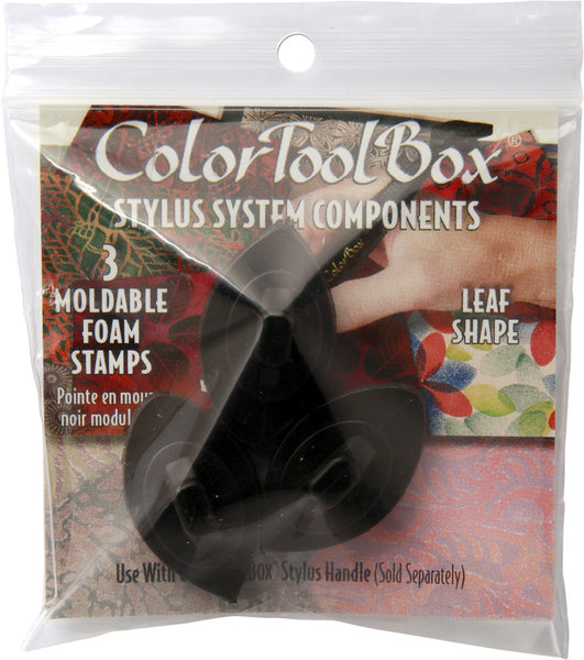 ColorBox Stylus, 3PK Leaf Tip - Moldable - Scrapbooking Fairies
