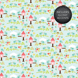 "Echo Park Paper Co. Spring Is Here 12"" x 12"" - Scrapbooking Fairies"