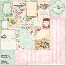 Blue Fern Studios, Homespun, Designed by Michelle Singh - Calling Cards