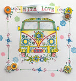 Pink Ink Designs A6 Clear Stamp, Campervan, Wheels Series