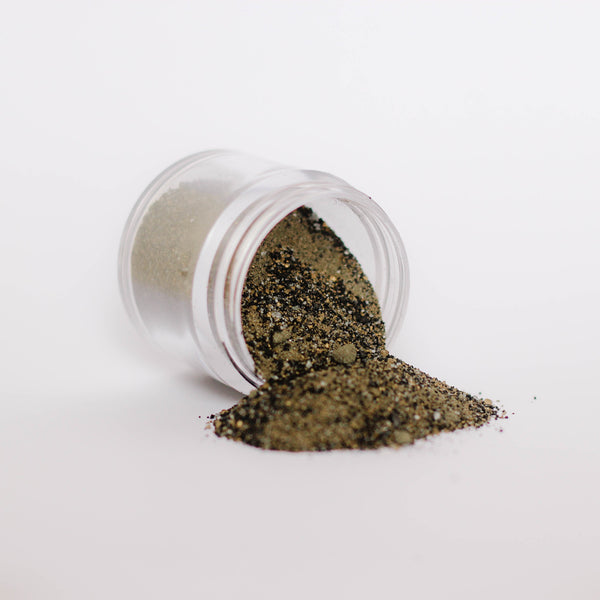 Emerald Creek, Allure Embossing Powder, Charred Gold, 20g
