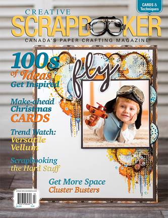 2019 Creative Scrapbooker Magazine, Fall