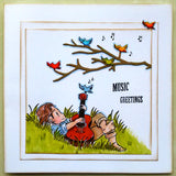 Dreamerland Crafts, Relaxing Guitar Music, Cling Stamp - Scrapbooking Fairies