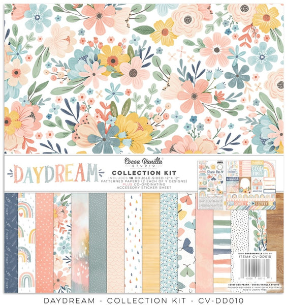 "Cocoa Vanilla Studio, 12""x12"" Doubole-Sided Collection Kit, Daydream"