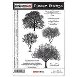 Darkroom Door - Rubber Stamp Set - Trees - Scrapbooking Fairies