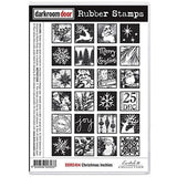 Darkroom Door - Rubber Stamp Set - Christmas Inchies - Scrapbooking Fairies