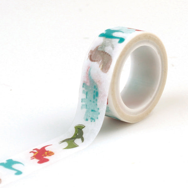 Decorative Tape - Dino's - Scrapbooking Fairies