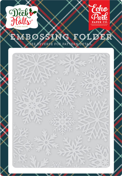 Snowflake #3 Embossing Folder - Scrapbooking Fairies