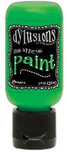 Dylusions Acrylic Paint, Flip Cap Bottle, 1oz, Sour Appletini