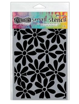 "Dyan Reaveley's Dylusions Stencils 5""X8"", Spring Bloom, Small"