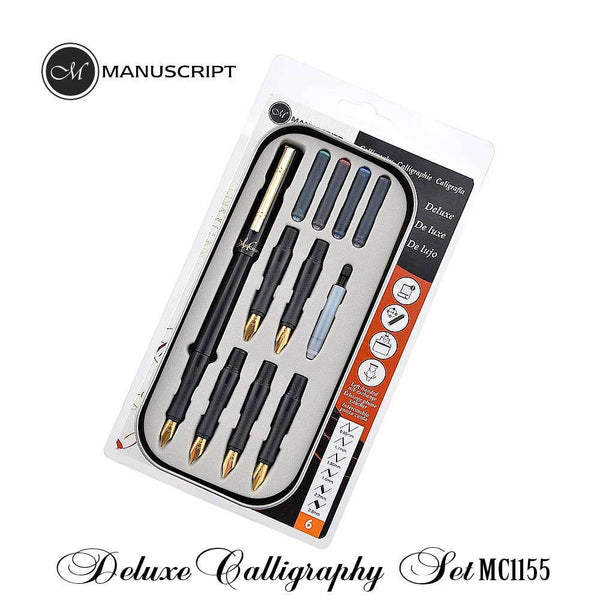Manuscript Deluxe Calligraphy Set, Right-Handed