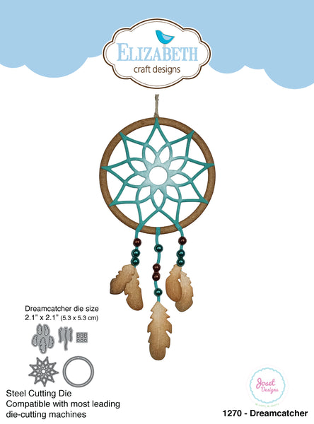 Elizabeth Craft Dies By Joset Designs, Dreamcatcher - Scrapbooking Fairies