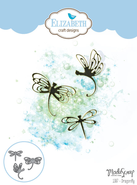 Elizabeth Craft Designs, Die, Dragonfly