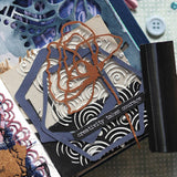 Elizabeth Craft Designs, Art Journal, Metal Die, Decorative Insert