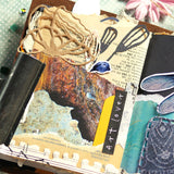 Elizabeth Craft Designs, Art Journal, Metal Die, Flower Power