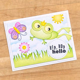 Elizabeth Crafts Designs, Clear Stamps, Prince & Frog Sentiments