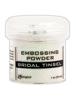Ranger Embossing Powder, Bridal Tinsel