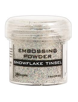 Ranger Embossing Powder, Snowflake Tinsel