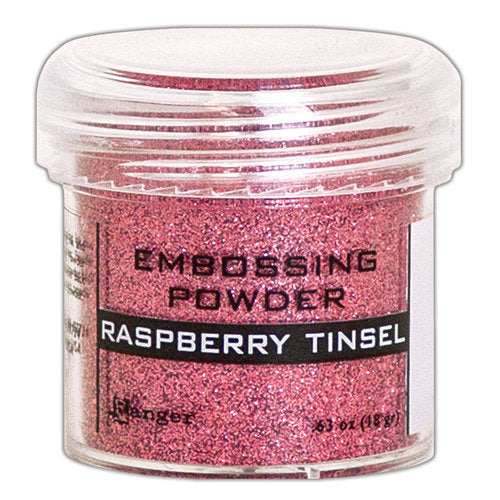 Ranger Embossing Powder, Raspberry Tinsel