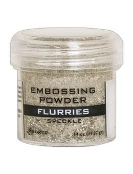Ranger Embossing Powder, Flurries Speckle