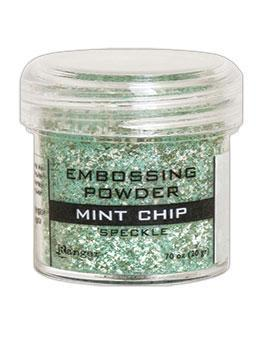 Ranger Embossing Powder, Mint Chip Speckle
