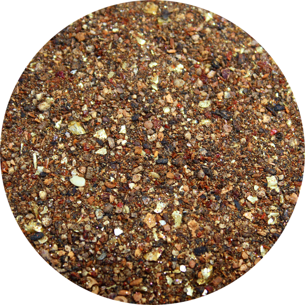 Art Glitter, Bran, 1 oz.  Jar, Glitter Element - Scrapbooking Fairies