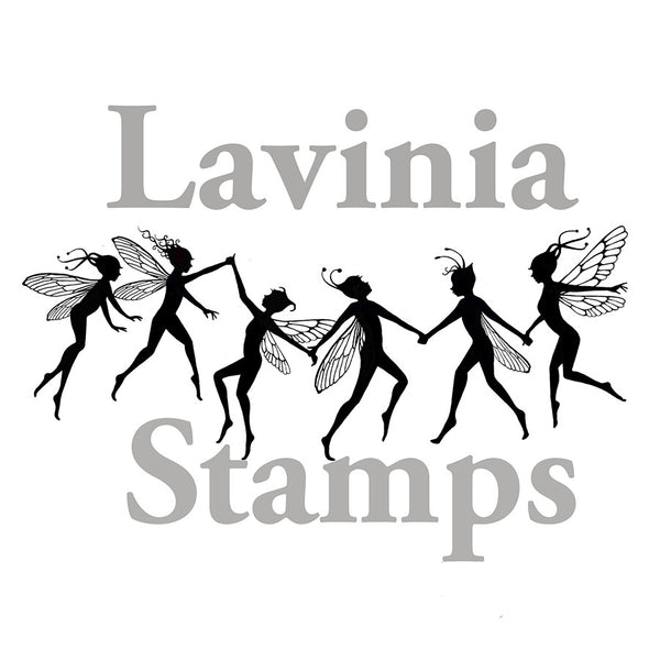 Lavinia Stamps, Fairy Chain (Large) Clear Stamps - Scrapbooking Fairies