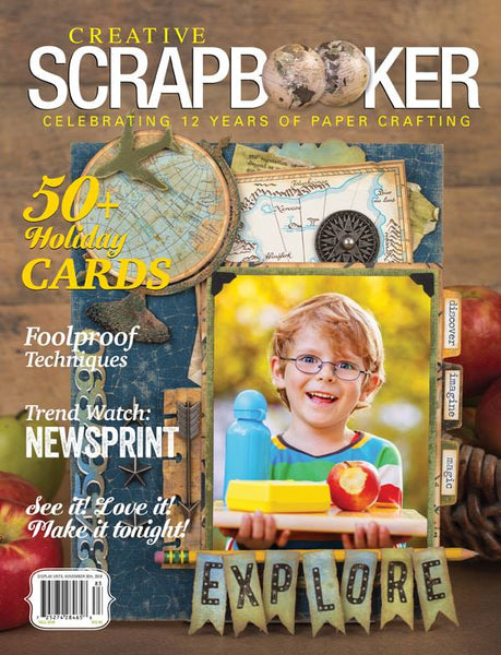 2018 Creative Scrapbooker Magazine Fall Issue
