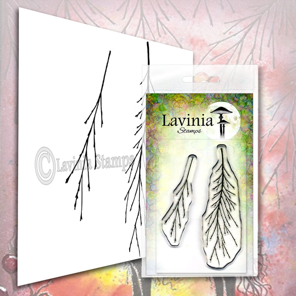 Lavinia Stamp, Fern Branch (LAV578), Clear Stamp