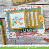 Lawn Fawn, Lawn Cuts Custom Craft Die, Flippin' Awesome Add-On