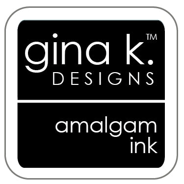 Gina K. Designs, Amalgam Ink Cube,  Jet Black