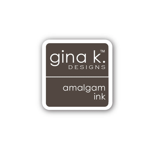 Gina K. Designs, Amalgam Ink Cube,  Chocolate Truffle