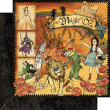 "Graphic 45, Deluxe Collector's Edition Pack 12""X12"", Magic Of Oz"