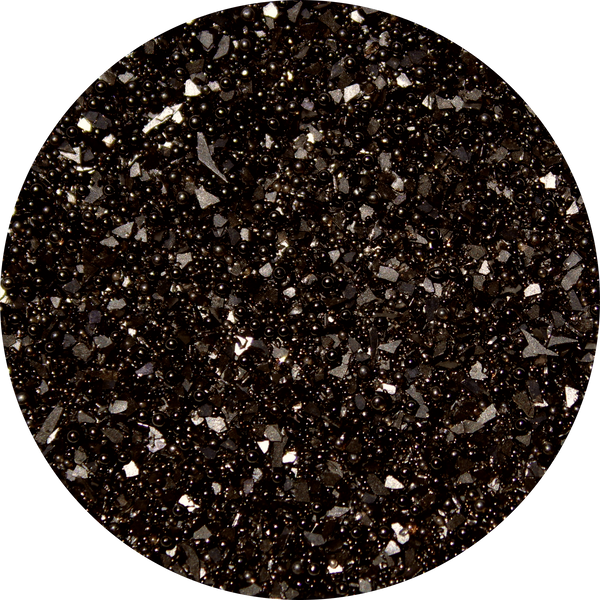 Art Glitter, Black, Glitter, 1/4 oz. Jar - Scrapbooking Fairies