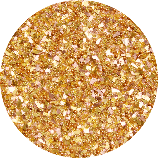 Art Glitter, Gold, Glitter, 1/4 oz. Jar - Scrapbooking Fairies