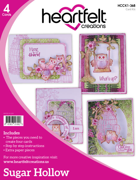 Heartfelt Creations, Sugar Hollow, Card Kit