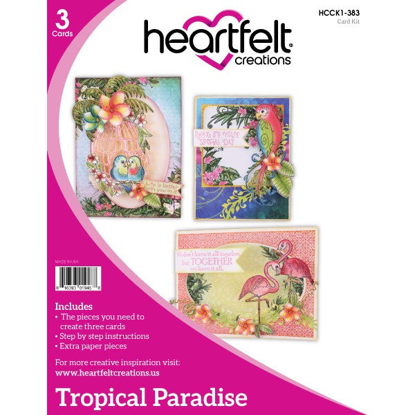 Heartfelt Creations, Tropical Paradise Card Kit