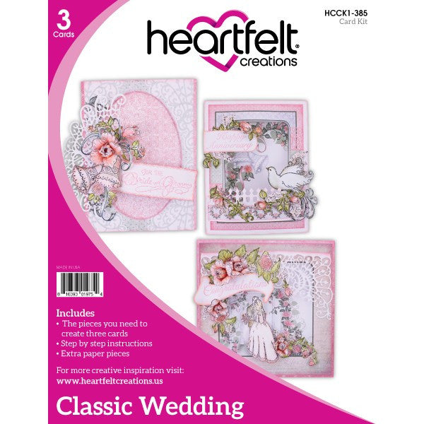 Heartfelt Creations, Classic Wedding Card Kit