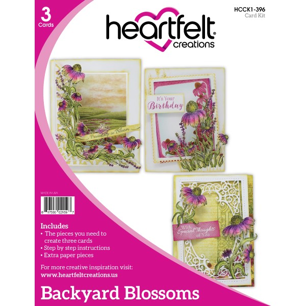 Heartfelt Creations, Backyard Blossoms Card Kit