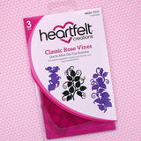 Heartfelt Creations, Classic Rose Vines Die - Scrapbooking Fairies