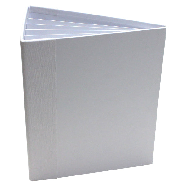 "Heartfelt Creations, 3D Flipfold Album, 7"" X 9""  - White"