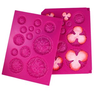 Heartfelt Creations, 3D Floral Basics Shaping Mold, Add Texture - Scrapbooking Fairies