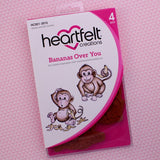 Heartfelt Creations, Bananas Over You Stamp and Die Combo - Scrapbooking Fairies