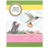 Stampendous, Carrier Hummer, Cling Stamp - Scrapbooking Fairies