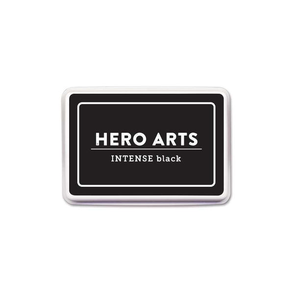 Hero Arts Dye Ink Pad, Intense Black (Alcohol-Marker Friendly)
