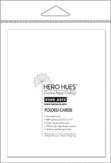 Hero Arts, Snow Folded Cards - Scrapbooking Fairies