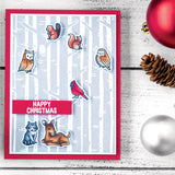 Hero Arts From The Vault Stamp & Die Combo, Winter Forest Animals