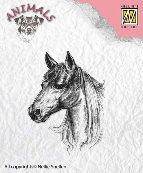 Nellie's Choice, Animals, Clear Stamp - Horse